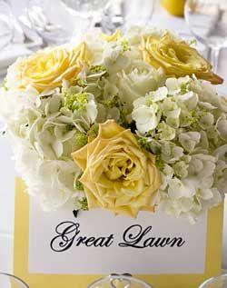 WeddingChannel Galleries: Phlox and Rose Centerpiece