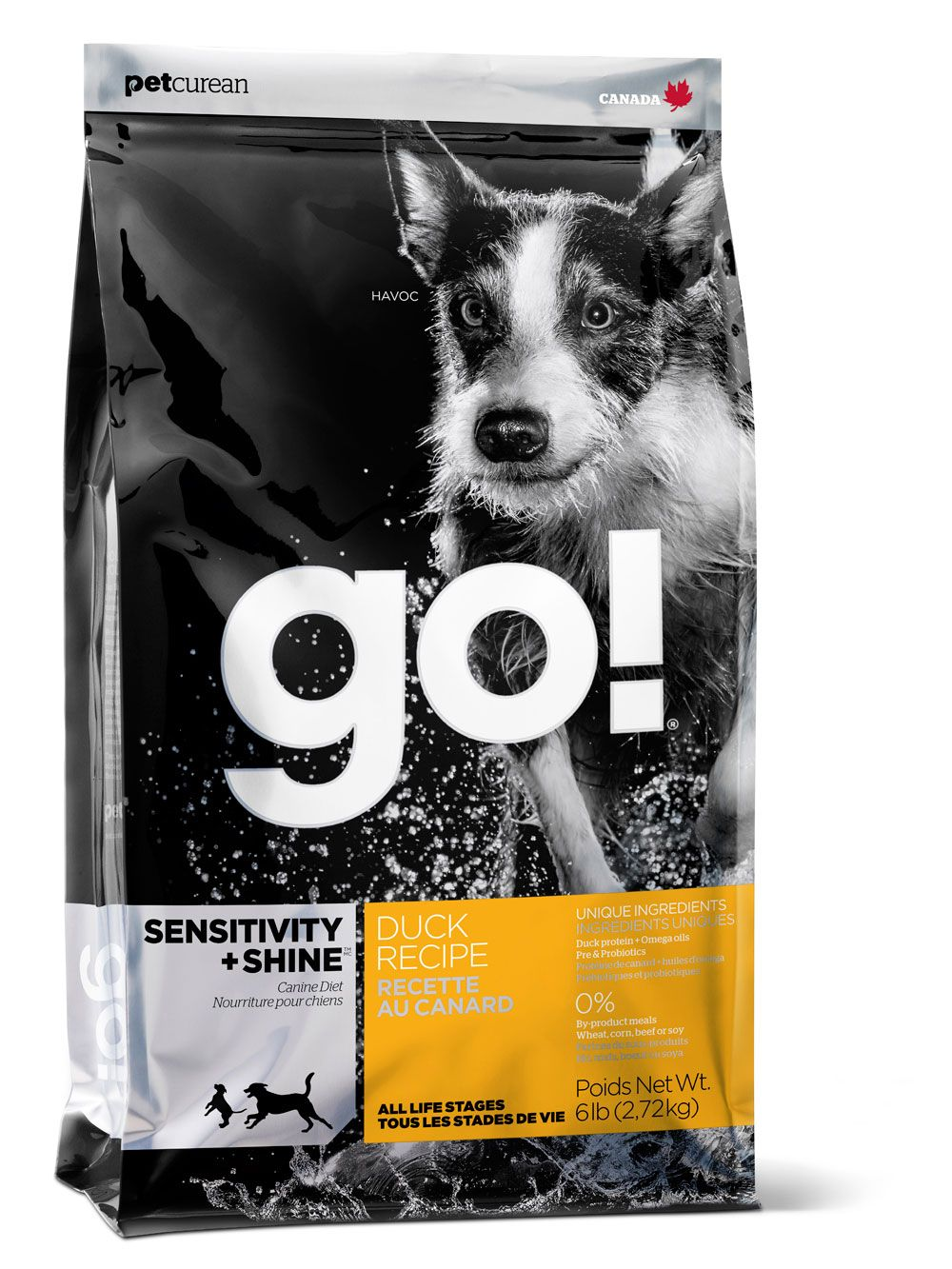 Food For Dogs With Allergies Petcurean Go Sensitivity Shine