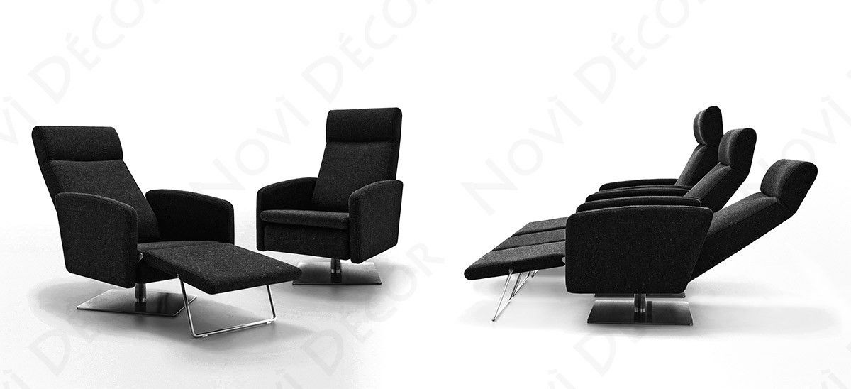 Abbot - Modern Fabric Reclining Lounge Chair by VIG Furniture | VGIDSR006  sc 1 st  Pinterest & Abbot - Modern Fabric Reclining Lounge Chair by VIG Furniture ... islam-shia.org