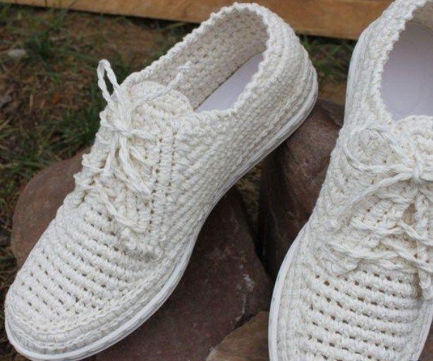 вязание обуви на подошве мастер класс крючком