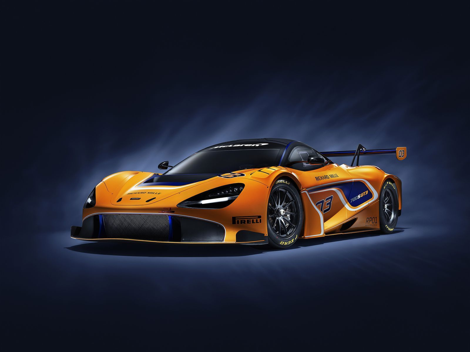 The Stunning McLaren 720S GT3 Is Here to Dominate Race