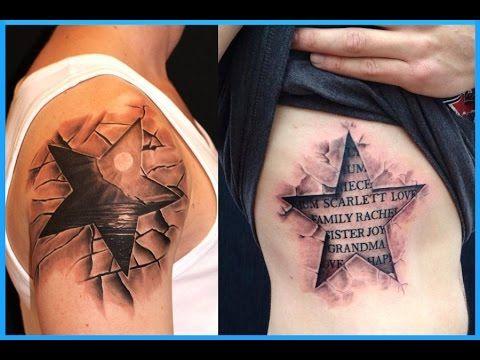 Best 3D Star Tattoos - Best Tattoos In The World Blog - Best