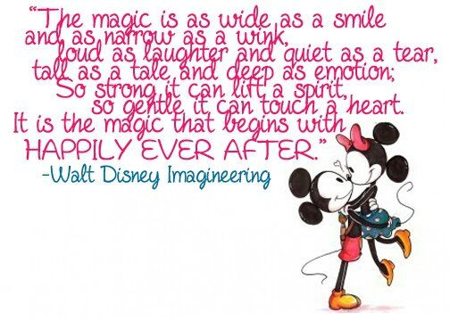...the magic that begins with happily everafter