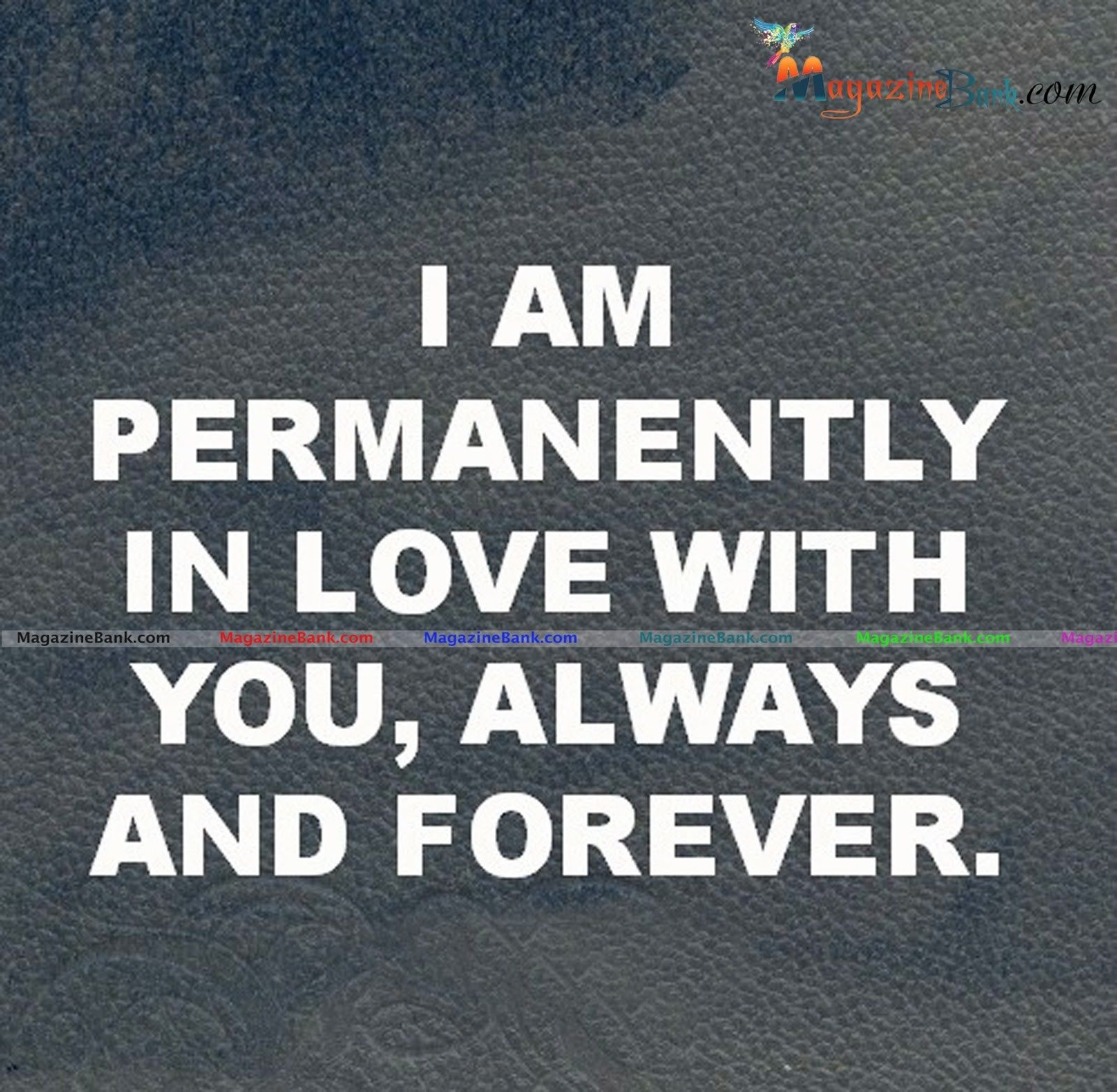 """I am permanently in love with you always and forever "" Cute Romantic Quotes & Love Quotes For Him"