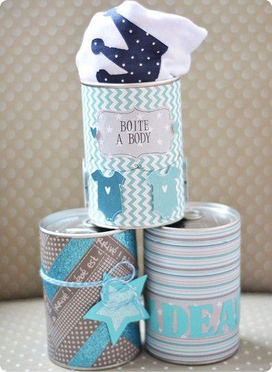 ma canette cadeau naissance b b d amour baby shower deco diy souvenirs et recycled tin cans. Black Bedroom Furniture Sets. Home Design Ideas