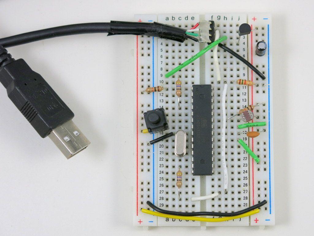 Attiny hid using v usb pinterest arduino