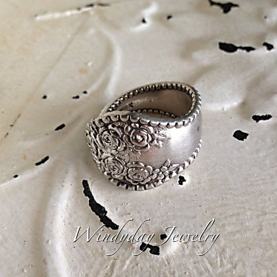Custom sized Spoon Ring by windydayboutique on Etsy, $18.00