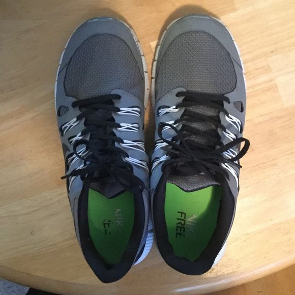 Nike Free 5.0 Shoes - Women's 12 Barely worn. In great shape (just a little scuff on the right toe) Nike Shoes Athletic Shoes