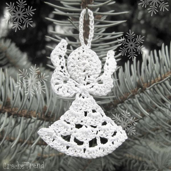 12 Cute Free Christmas Ornament Crochet Patterns Free Crochet