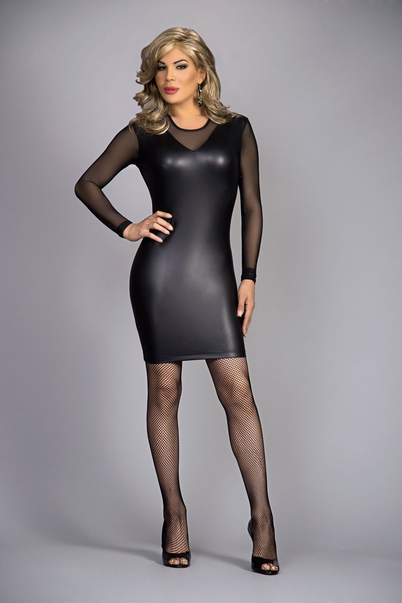 Sexy Leather Dresses -12 Stylish ways to Wear Leather Dress forecasting