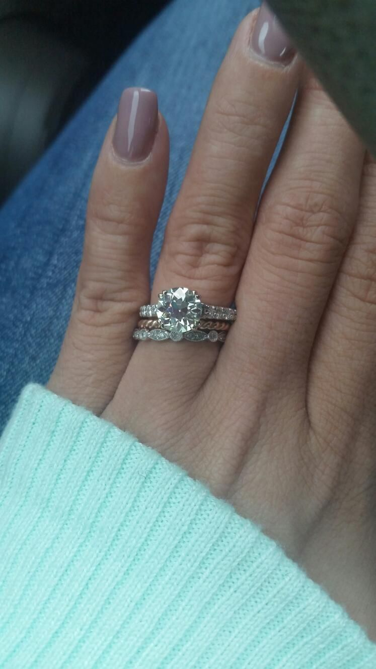 Size 3 5 Finger With 1 5 Carat Oec Moissanite That S Why