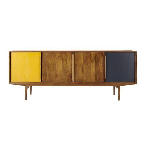 Anrichte Im Vintage Stil Aus Mangoholz Haus Deko Mobelhersteller Und Schrank Design
