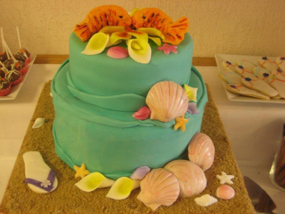 beach theme wedding  #Torontocakes #Torontodesserts #Torontoweddingcakes #Torontocookies #Torontoscupcakes #Torontoevents #sweetstable
