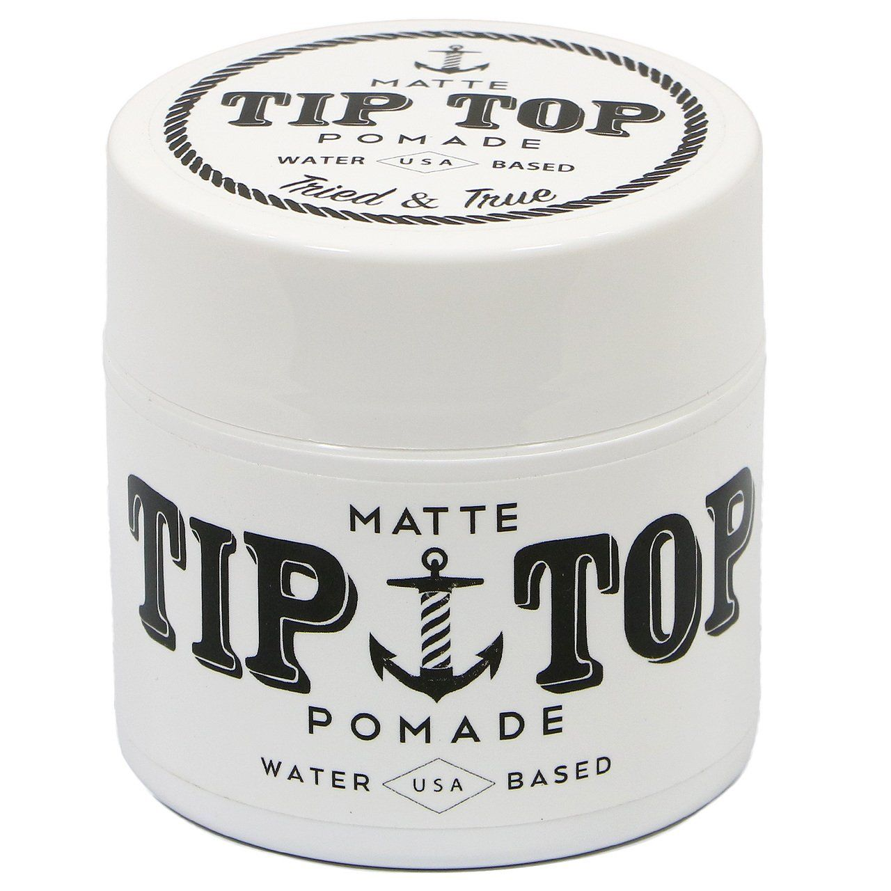 TIP TOP MATTE Pomade Water Based 4.25 oz Hair pomade