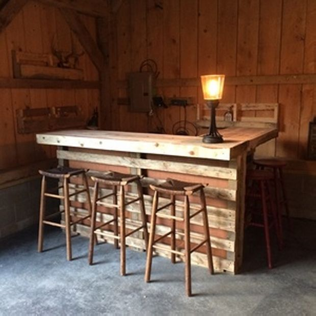 gorgeous low cost pallet bar diy ideas for your home plans diy outdoor counter ideas - Pallet Bar Plans