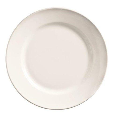 Wti 840438r10 Classic Plain Bright White China Plate China