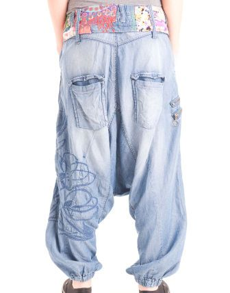 1bf89b93 Desigual - Denim Turco Cinturon Jeans Claro | Danza, 2019 | Kotlar ...