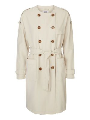 LANG TRENCHCOAT, Oatmeal