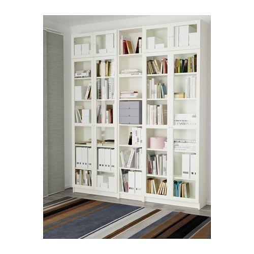 Ikea Billy Oxberg White Bookcase Furniture In 2019