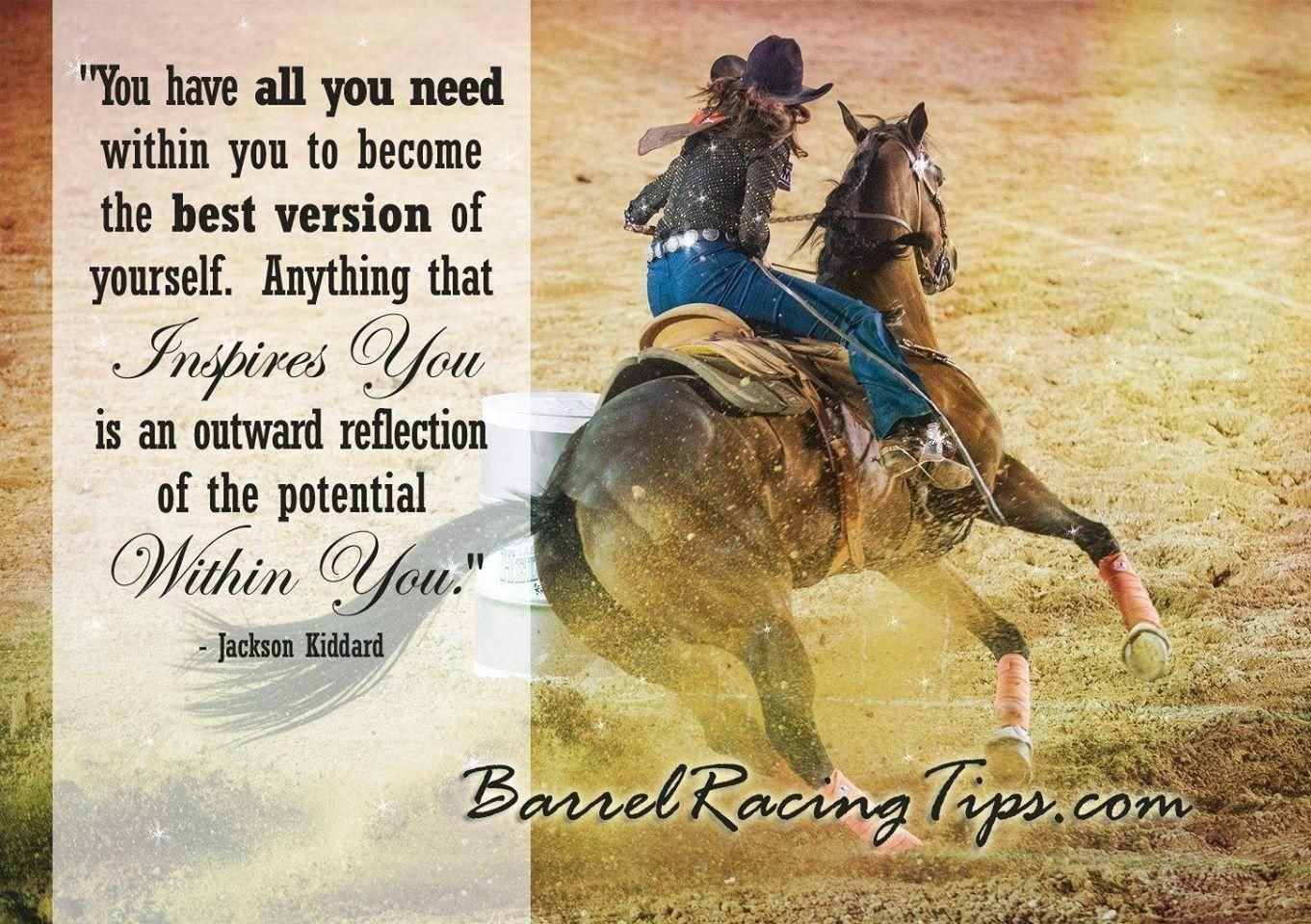 Barrel Racing Quotes Horse Quotes  Horse  Pinterest  Horse Barrels And Rodeo