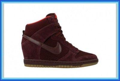 Nike Dunk Sky Hi 644877 601 Bordowe Roz 36 39 6088594995 Oficjalne Archiwum Allegro Nike Dunks Nike Top Sneakers
