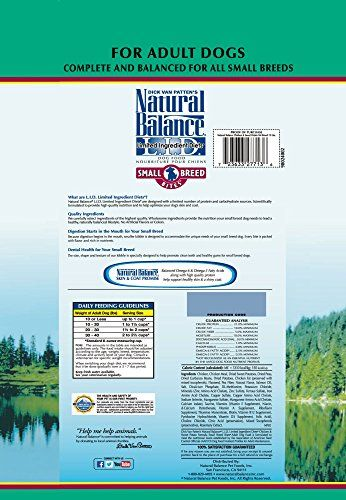 Natural Balance Limited Ingredient Diets High Protein Grain Free
