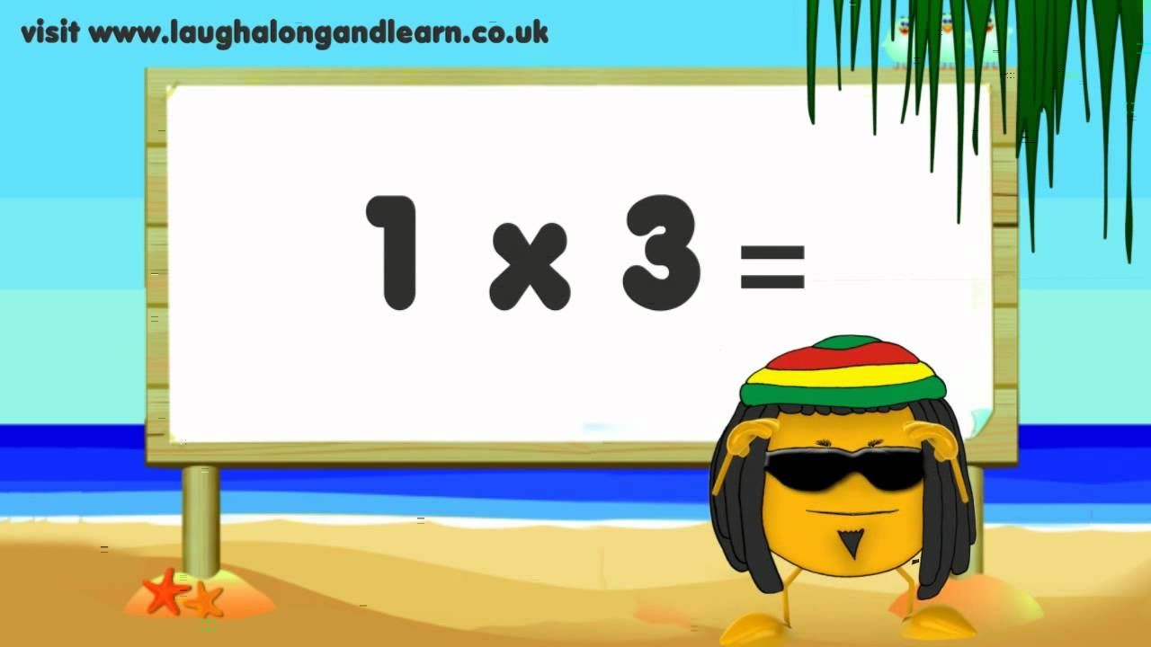 3 Times Table Song - Learn The Fun Way! Quick, easy and catchy songs take the edge off learning! Relax and have fun while learning! Multiplication Made Easy!