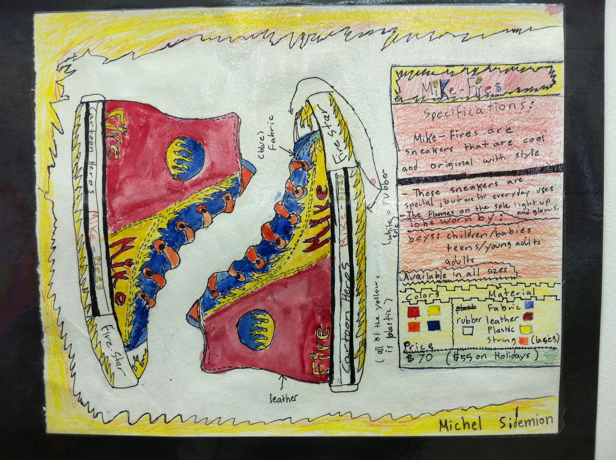 Art Lessons : Sneaker design lesson th grade art lessons pinterest