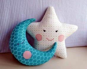 Almohadas y cojines infantiles Patrones para hacer bonitas y