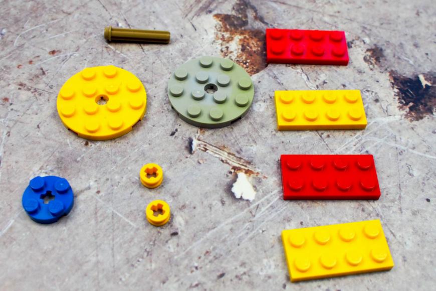 DIY LEGO Fid Spinners