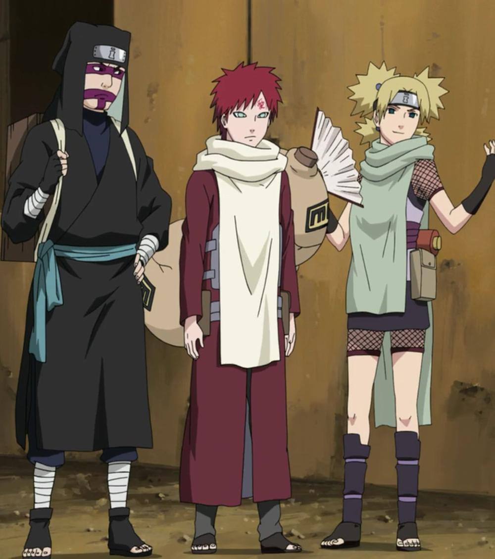 Temari Naruto, Naruto gaara, Anime naruto