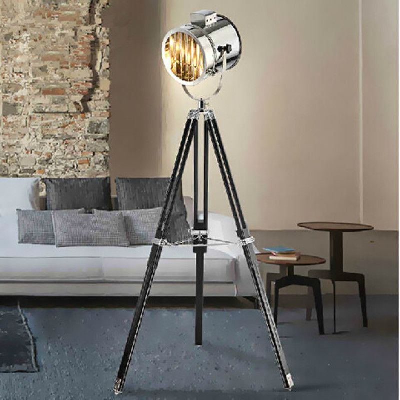 Living Room Standing Lamp Art Decor Find More Floor Lamps Information About Modern Marine Signal Tripod Abajur Photography Light Projector Searchlight High