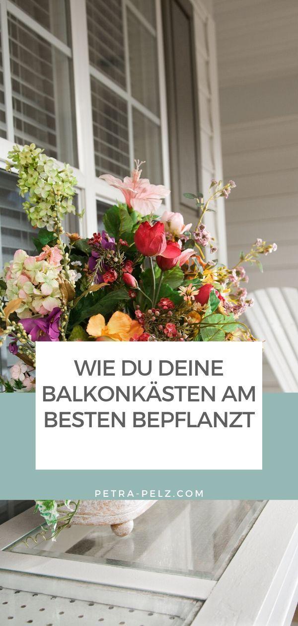 Fruhlingsblumen Ideen Fur Balkonkasten Und Pflanzgefasse In 2020