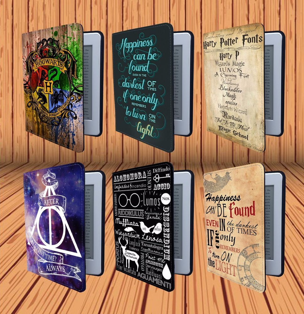 """Harry Potter Quote Map For Amazon 6"""" Kindle Paperwhite"""