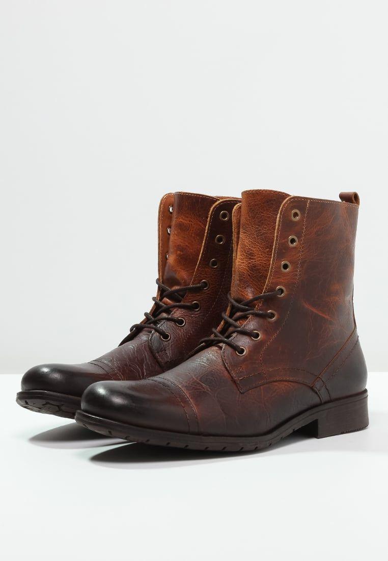 3673aef69d72 Boots à lacets Zign Bottines à lacets - cognac cognac  79,95 € chez Zalando  (au 21 10 16). Livraison et retours gratuits et service client gratuit au  0800 ...