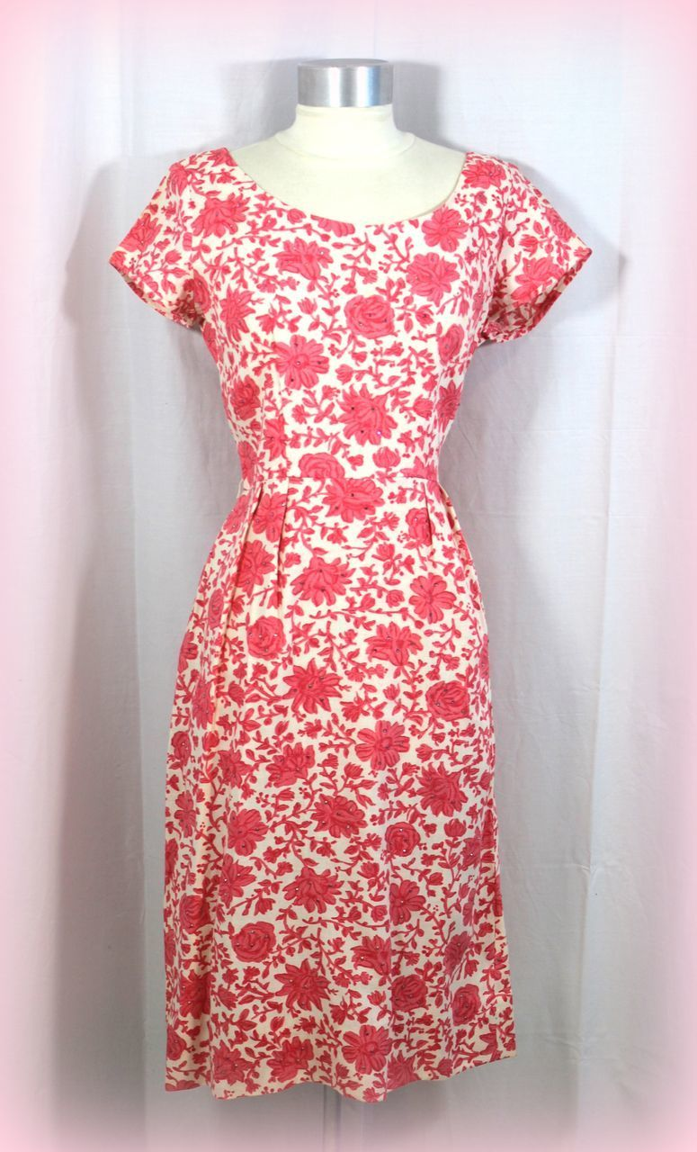 Vintage early 1960s Liberty of London dress in Bantry