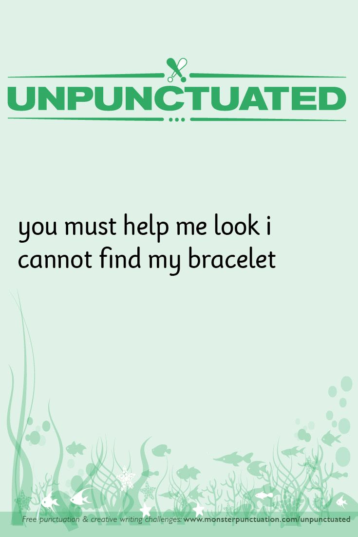 Get It Now Free Unpunctuated Challenge Sheet Exclamations With