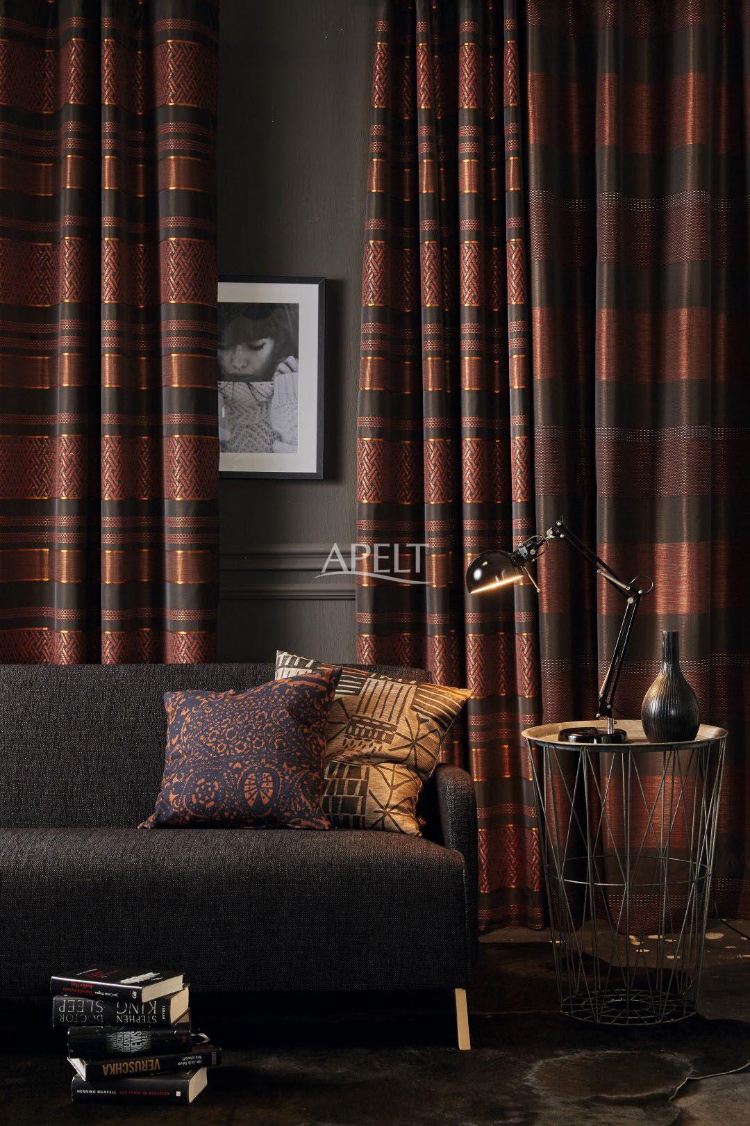 Apelt Design modern ethno vorhang lexter und lennox und kissen granada und