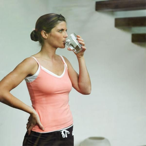 Drink Water to Banish Bloat - The 10 Most Counterintuitive Health and Beauty Tips - Shape Magazine
