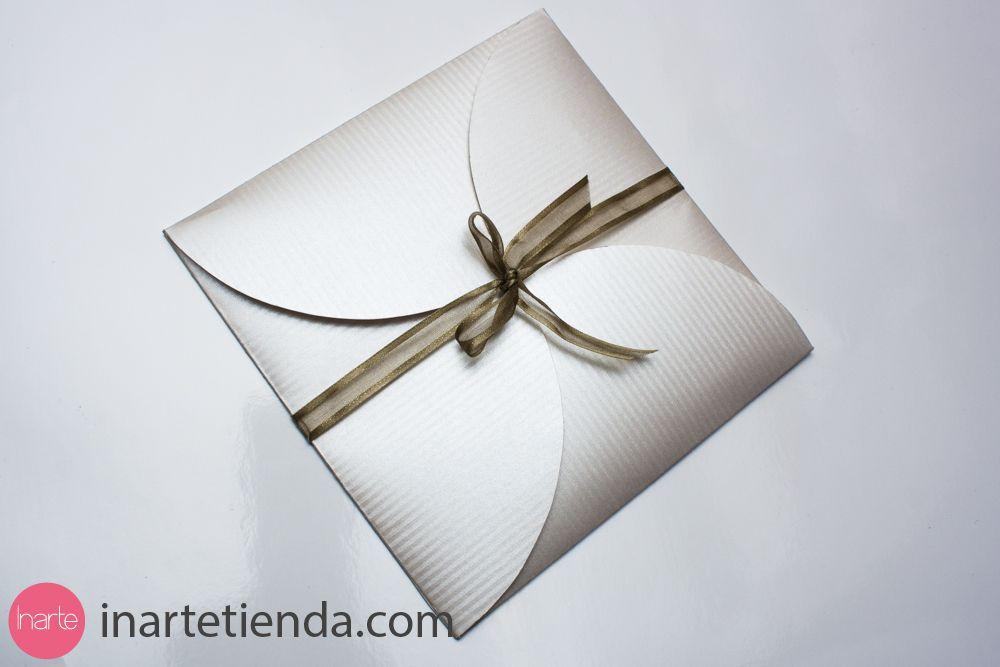 Invitaciones originales par boda Invitación para boda, elegante y - invitaciones para boda originales