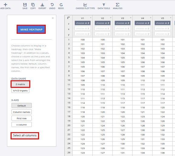 Excel Contour Plots with Plot ly   Excel / Power BI