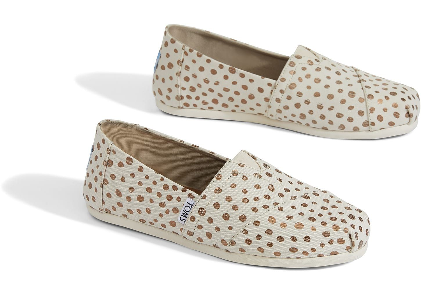 951229d3f46 Rose Gold Dots Women s Classics