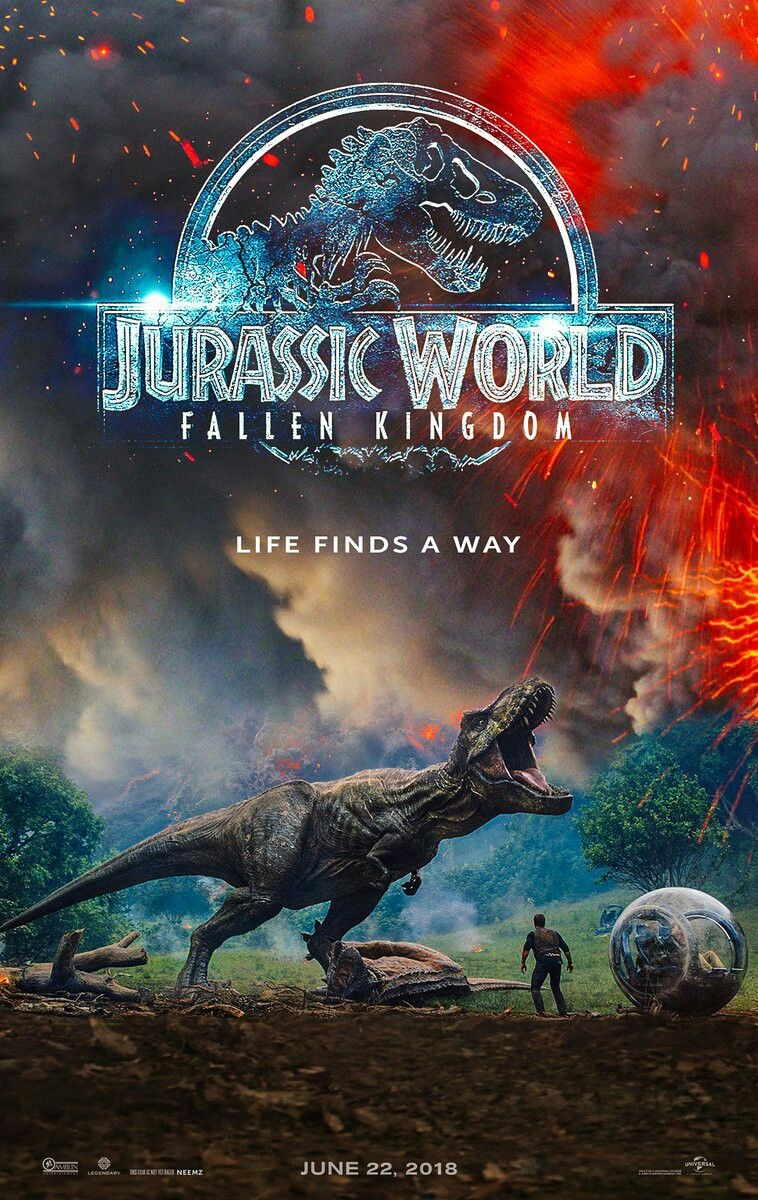 Hasil gambar untuk Jurassic World : Fallen Kingdom poster