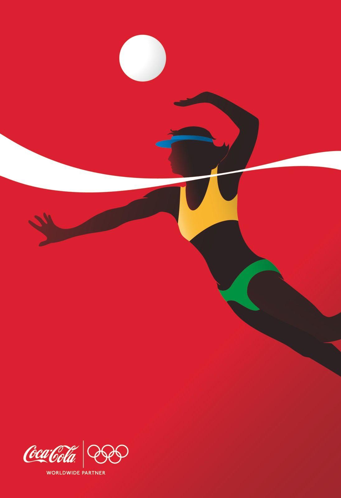 adv / Coca-Cola: Athletes, Beach Volleyball Player