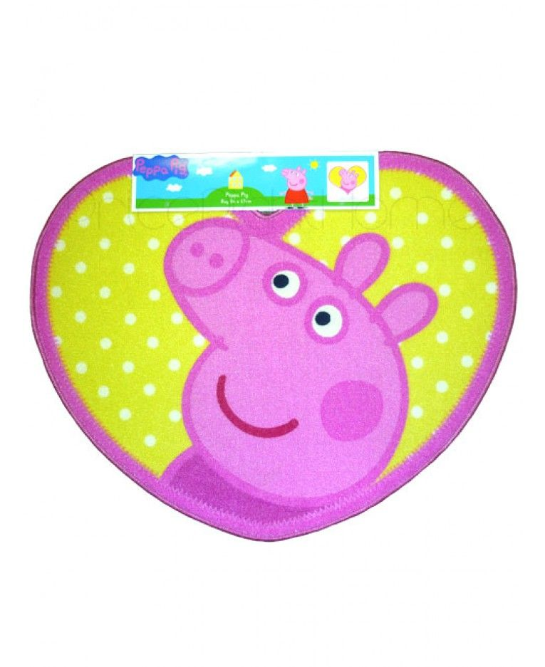 The Finishing Touch Floors: This Peppa Pig Shaped Floor Rug Is The Perfect Finishing