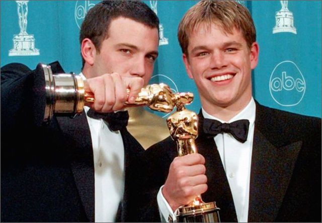 Ben And Matt Oscar Winners Matt Damon Ben Affleck