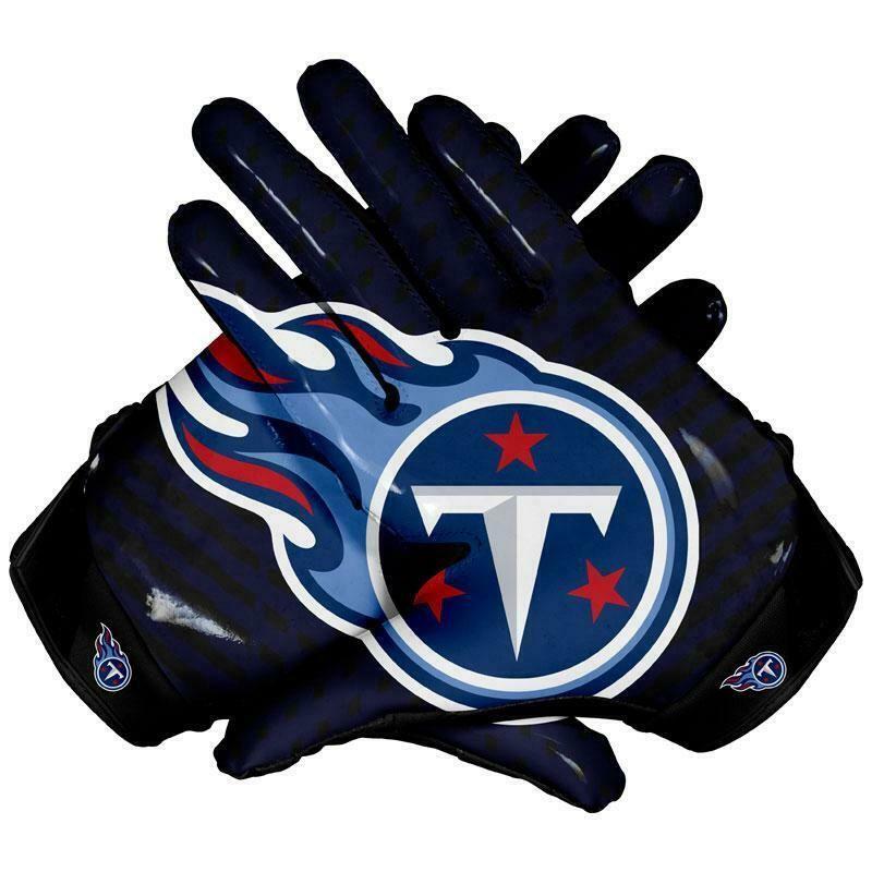 American Philadelphia Eagles Team NFL Football Gloves With Glue Grip