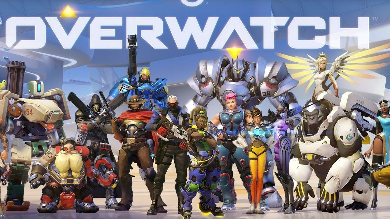 Overwatch Gameplay PS4 First Time Out Livestream