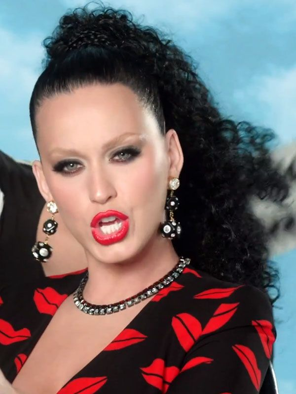 Katy Perry Eye Brows : perry, brows, Perry's, Video, Features, Skinny, Eyebrows, Scrunchies, Perry, News,, Perry,, Celebrity, Beauty, Secrets
