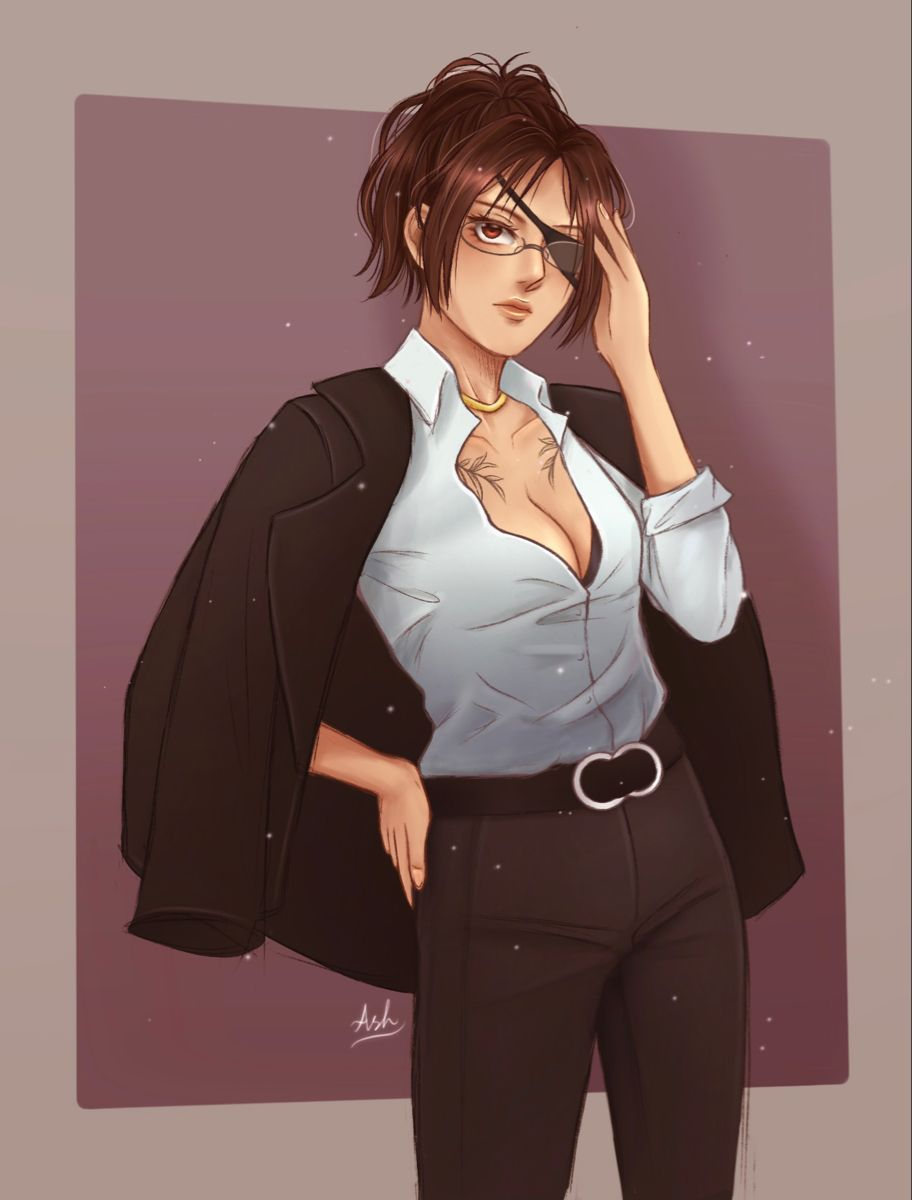 Photo of Hanji in a suit